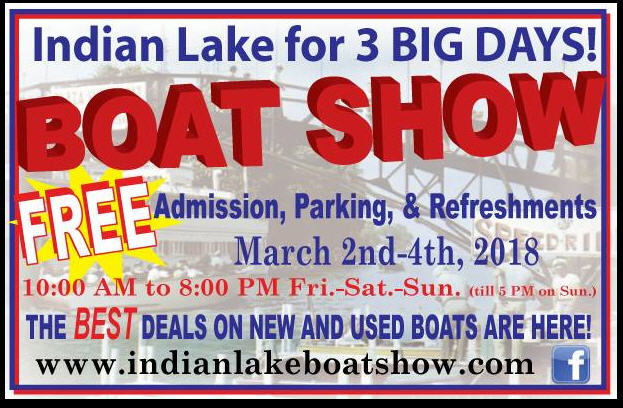 2018 Indian Lake Boat Show