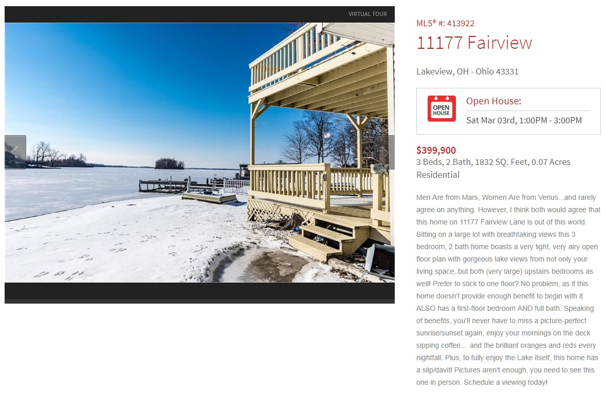 11177 Fairview open house
