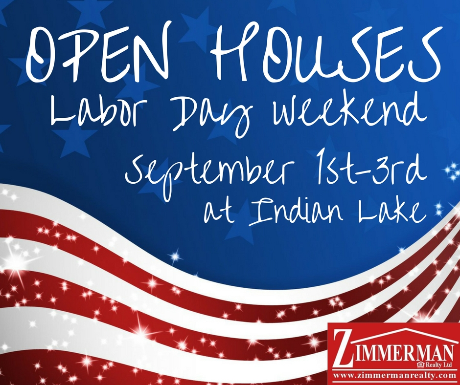 Labor Day Open Houses