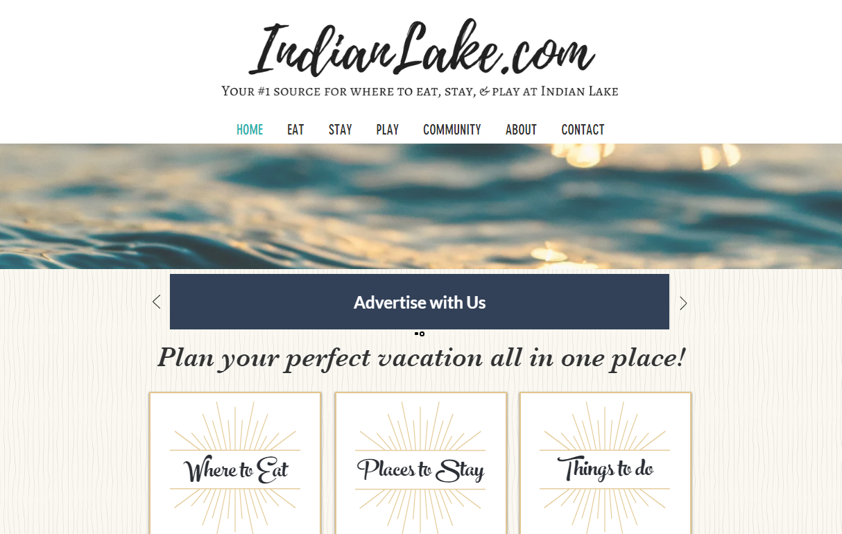 Indianlake.com Homepage