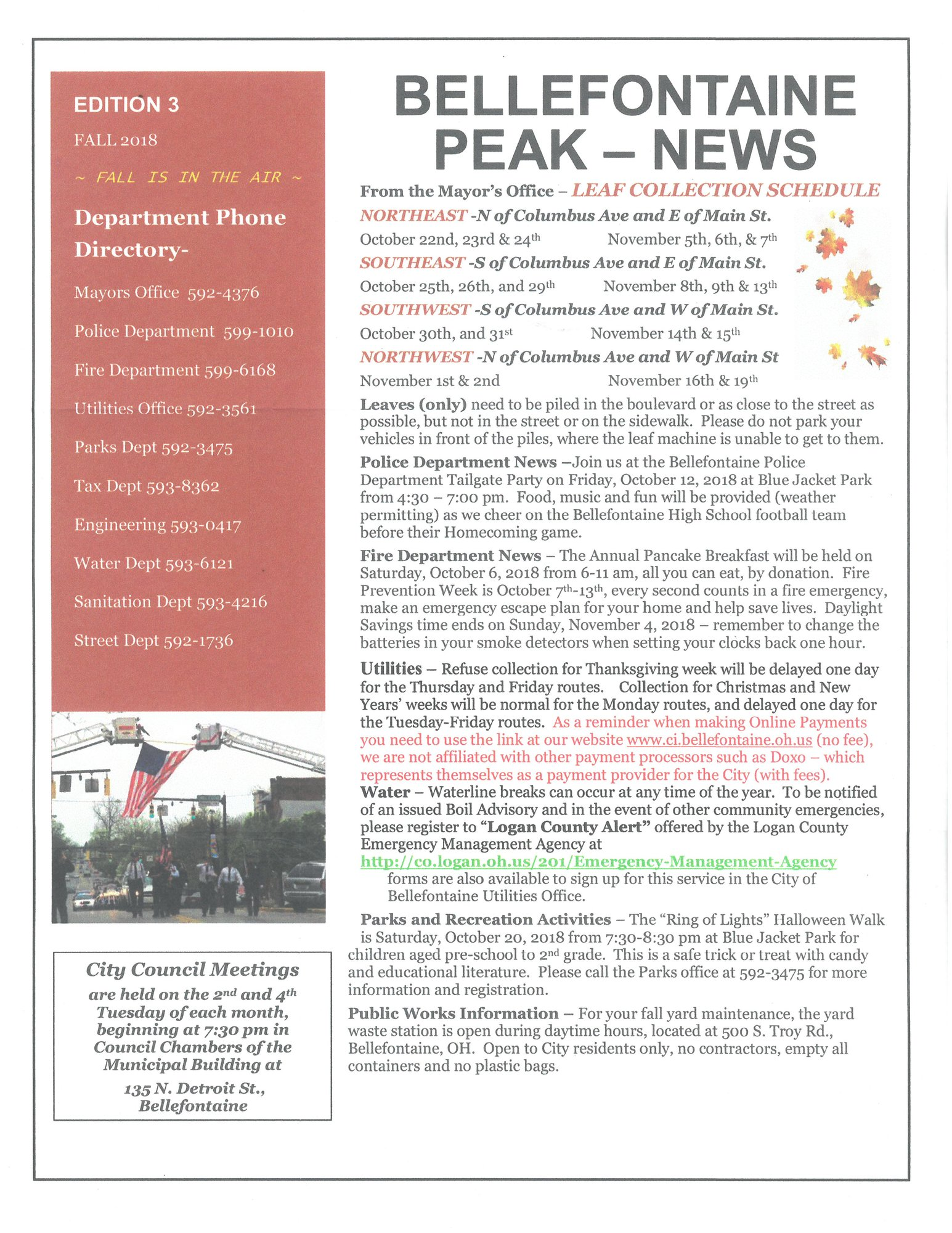 Bellefontaine Peak News